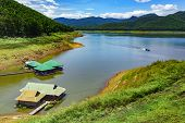 picture of dam  - Mae Ngad Dam and Reservoir in Mae Taeng district - JPG