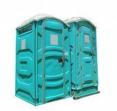 Two Portable Toilets