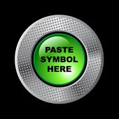 Paste symbol here! (Open button).