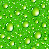 Water drops seamless background.