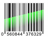 Barcode scaning - vector illustration.