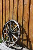 Abandoned Wheel