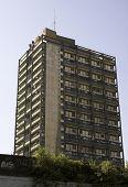 Block Of Flats In London Suburb