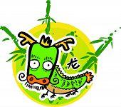 Cartoon Chinese Zodiac - Dragon
