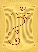 Ganesh abstract (it can be used as Wedding Card design)
