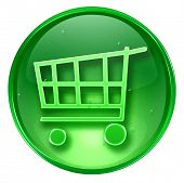 Shopping Cart Icon. (With Clipping Path)