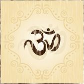 stock photo of swastik  - Aum Vintage - JPG