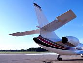 Business Aircraft Tail