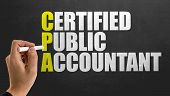 Постер, плакат: CPA Certified Public Accountant