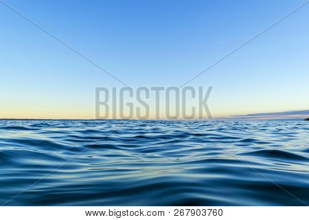 Water Surface View Of A
