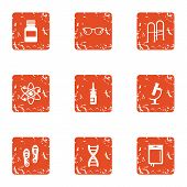 Remediation Icons Set. Grunge Set Of 9 Remediation Vector Icons For Web Isolated On White Background poster
