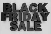 Black Friday, Sale Message For Shop. Business Shopping Store Banner For Black Friday. Black Friday C poster