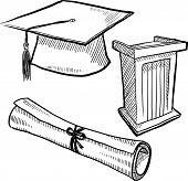 Graduation objects sketch