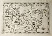 pic of messina  - Old map of Capuchins province of Messina - JPG