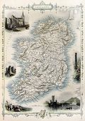 image of ireland  - Ireland old map - JPG
