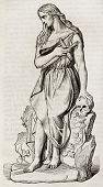 pic of magdalene  - Mary Magdalene statue - JPG