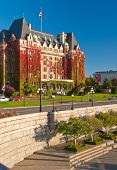 Victoria's beautiful inner harbour, Vancouver Island, Canada.