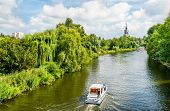 View Of The Havel River In Potsdam - Brandenburg, Germany poster