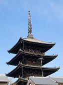 Pagoda Over Rooftops