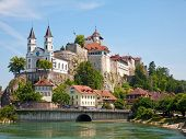 Aarburg castle near Zurich, Switzerland