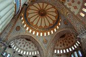Blue Mosque Interior Dome