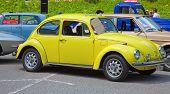 SCHWAEGALP - JUNE 27: The VW Beetle on the 7th International