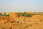 Ruins of Diriyah (clay fortress in Riyadh, Saudi Arabia)