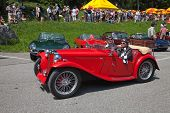 SCHWAEGALP - JUNE 27: The MG on the 7th International