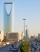 RIYADH - DECEMBER 22: Kingdom tower on December 22, 2009 in Riyadh, Saudi Arabia. Kingdom tower is a