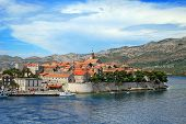 Corcula. Small island city near Dubrovnik in Croatia