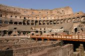Rome Colosseum Internal Wide Angle