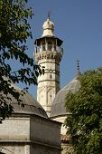 mosque with clear sky in Adana, Turkey