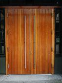 Modern Wood Door
