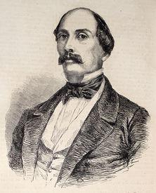 pic of luigi  - Antique illustration of Luigi Carlo Farini - JPG