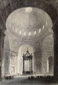 picture of luigi  - Antique illustration of Saint Peter - JPG