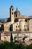 A View Of Urbino Italy