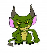 Halloween Goblin Green