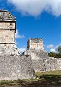 Chichen Itza pyramid Yucatan Mexico