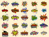 Cartoon Sale Icons