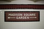 The Madison Square Garden Subway Station, New York
