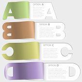 A-b-c-d Paper Cutoff Options