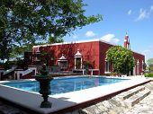 Hacienda With A Pool