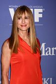 LOS ANGELES - JUN 12:  Holly Hunter arrives at the Crystal and Lucy Awards 2013 at the Beverly Hilto