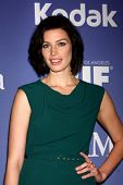 LOS ANGELES - JUN 12:  Jessica Pare arrives at the Crystal and Lucy Awards 2013 at the Beverly Hilto