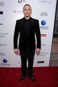 LOS ANGELES - 10 de JUN: Rob James-Collier llega a An Evening with Downton Abbey en el Leonard H.
