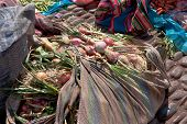 Market Day At Pisac, Peru