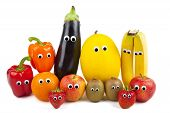 Fruit And Vegetable Family