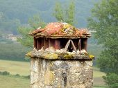 Ancient French Chimney