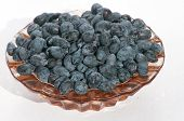 Honeyberries In The Plate