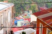Streets in Valparaiso